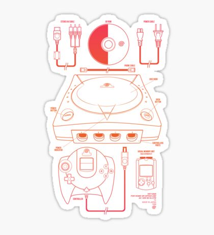 The Dream Machine Sticker