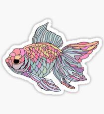colorful underwater fish  Sticker