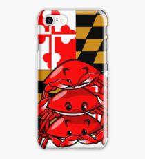 Three Wise Crabs iPhone Case/Skin