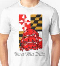 Three Wise Crabs Unisex T-Shirt