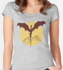 Smaug The Stupendous Women's Fitted Scoop T-Shirt