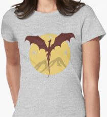 Smaug The Stupendous Womens Fitted T-Shirt