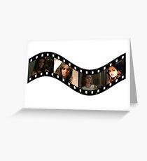 Buffy Faith Eliza Dushku 2 Greeting Card