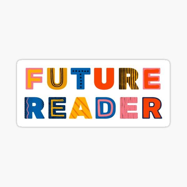 Future Reader Sticker