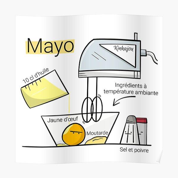 Kinkajou - La mayonnaise Poster
