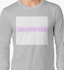 whatever graffiti Long Sleeve T-Shirt