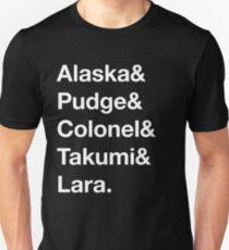 Looking For Alaska - Names T-Shirt