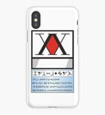 Hunter License iPhone Case