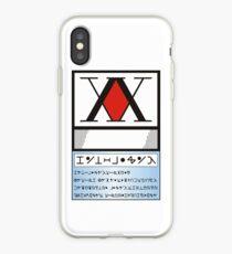 Hunter License iPhone Case