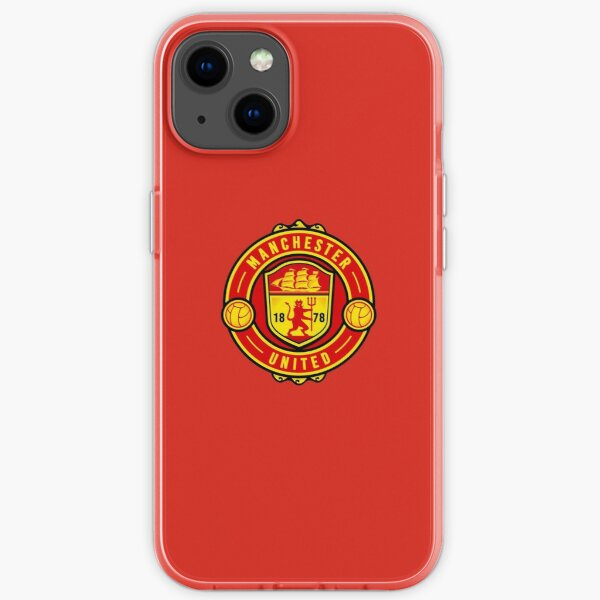 The Red Devils of Manchester iPhone Soft Case