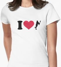 I love lacrosse player T-Shirt