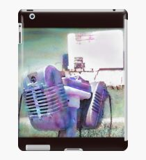 Watercolor Drive-in Memories Photo Print iPad Case/Skin