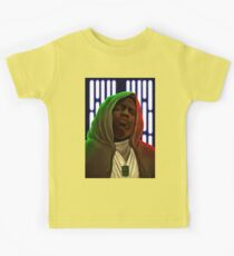 Jedis move in silence and violence Kids Tee