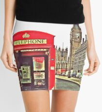 Big Ben's Calling Mini Skirt