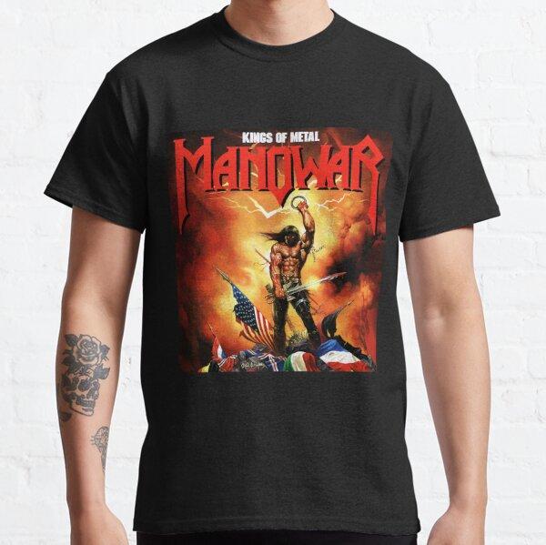 manowar music 2021 benderaaaaaa # 5527625 Camiseta clásica