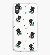 Teddies in swimming suits iPhone Case