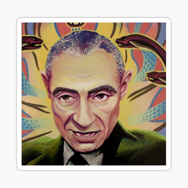 J. Robert Oppenheimer Sticker