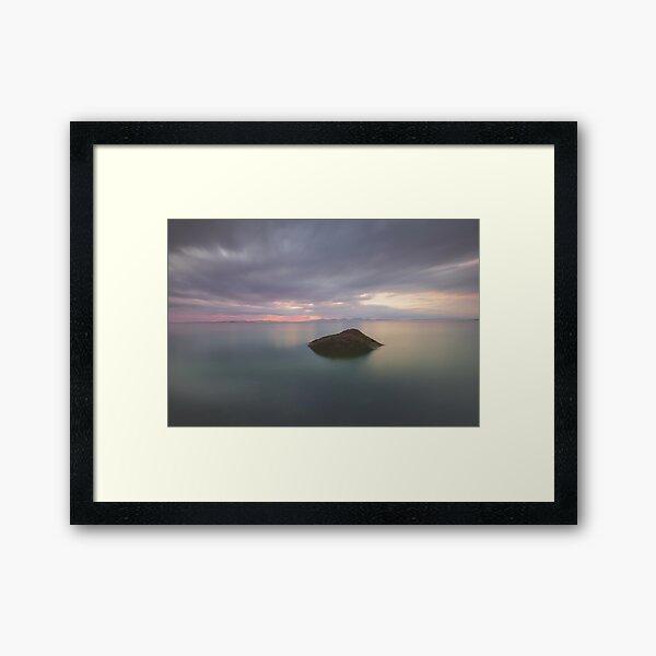 Isle of Gigha Sunset Framed Art Print
