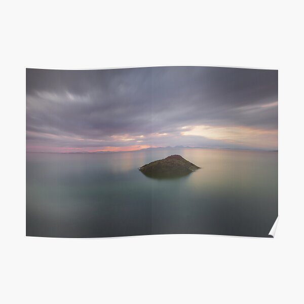 Isle of Gigha Sunset Poster