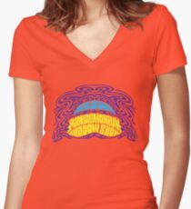 Pandemonium Shadow Show Women's Fitted V-Neck T-Shirt