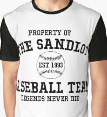 The Sandlot Baseball team Graphic T-Shirt