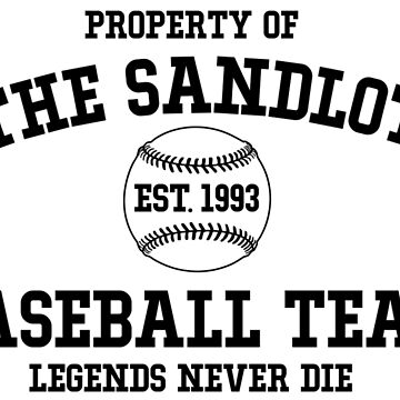The Sandlot Baseball team by SparksGraphics