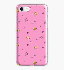 Stars pattern pink iPhone Case/Skin