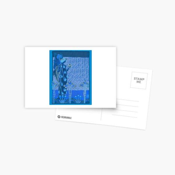 The Blue Fairy Postcard