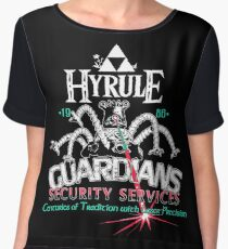 Zelda Breath of the Wild Hyrule Guardians Women's Chiffon Top