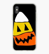 Scary Corn iPhone Case