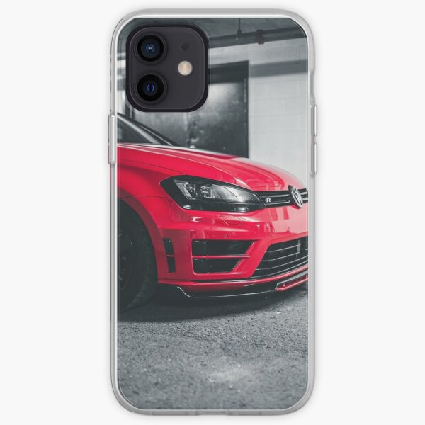 Voiture rouge Coque souple iPhone