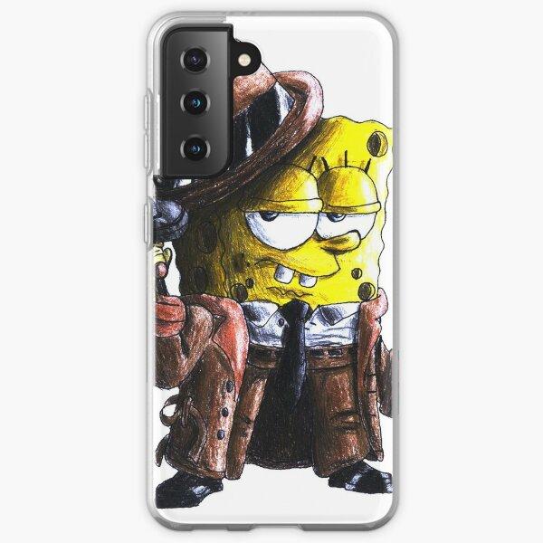 gangster spongebob with gun Samsung Galaxy Soft Case