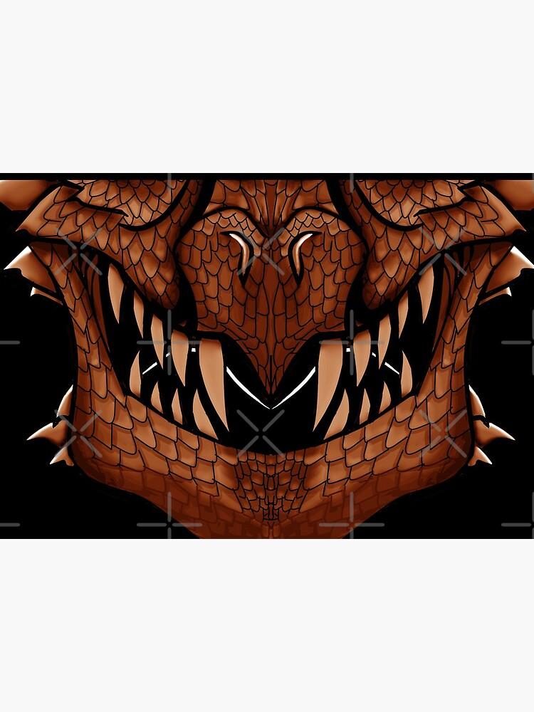 Copper Dragon Spirit Mask by GothickangelCa