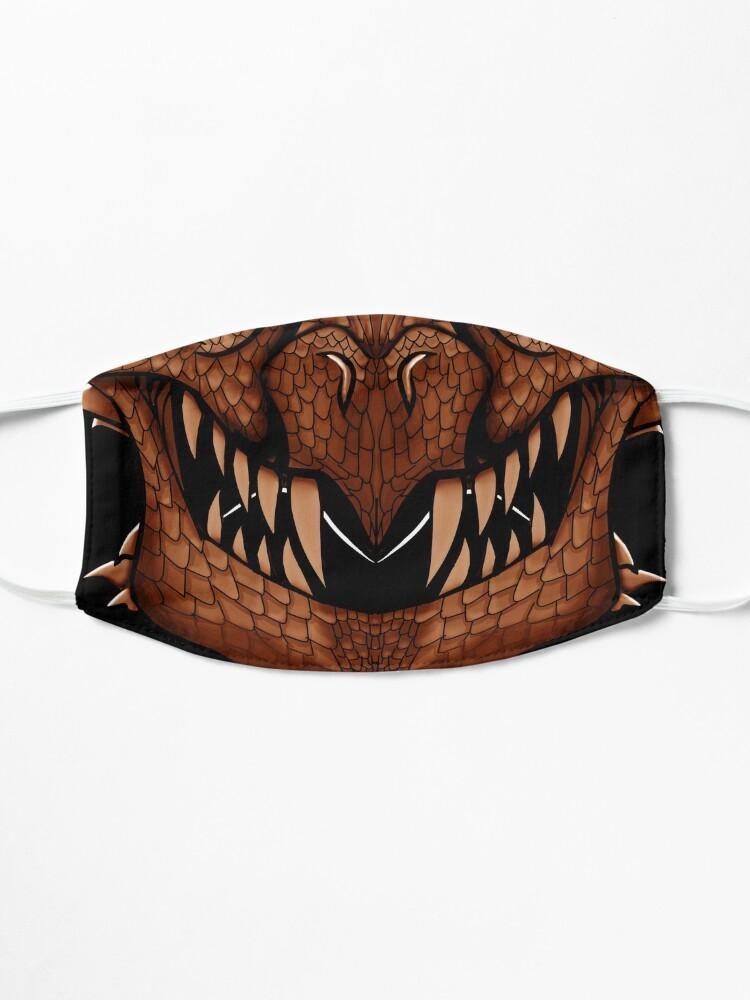 Alternate view of Copper Dragon Spirit Mask Mask