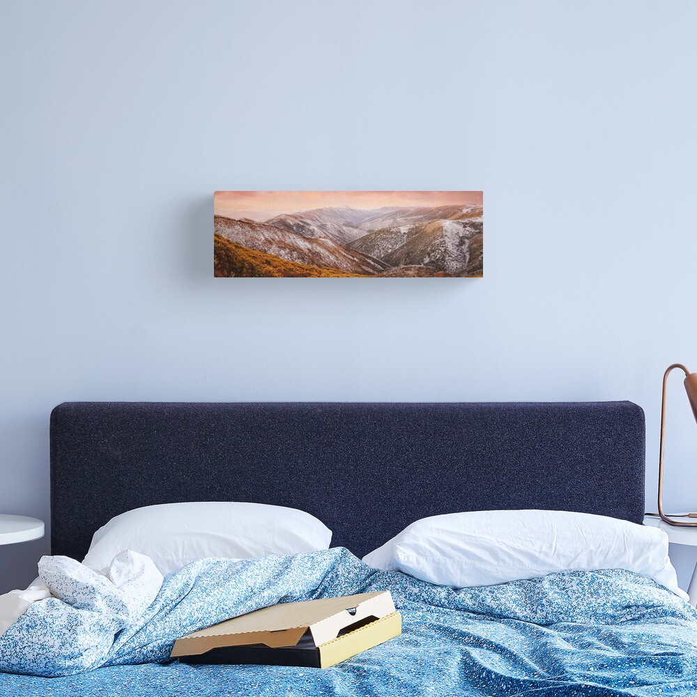 Mt Feathertop Sunset, Victoria, Australia Canvas Print