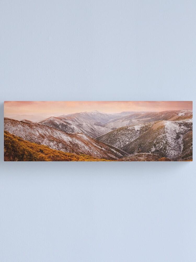 Alternate view of Mt Feathertop Sunset, Victoria, Australia Canvas Print