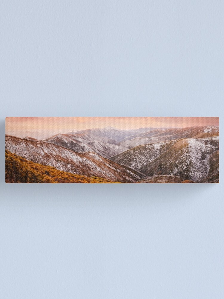 Alternate view of Mt Feathertop Sunset, Victoria, Australia Canvas Print
