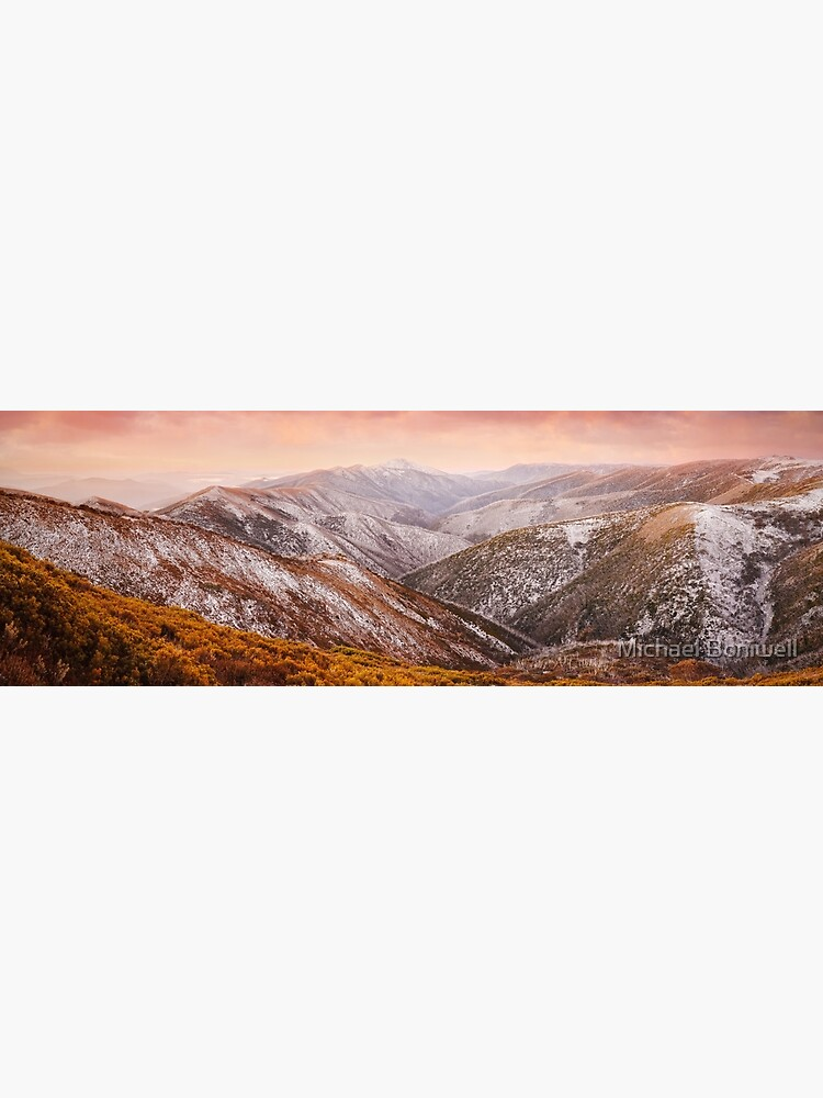 Mt Feathertop Sunset, Victoria, Australia by Chockstone