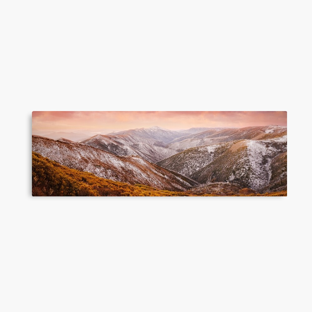 Mt Feathertop Sunset, Victoria, Australia Canvas Print