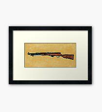 Gun - Rifle - SKS Framed Print