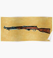 Gun - Rifle - SKS Poster
