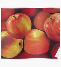 Honeycrisp Apples Poster