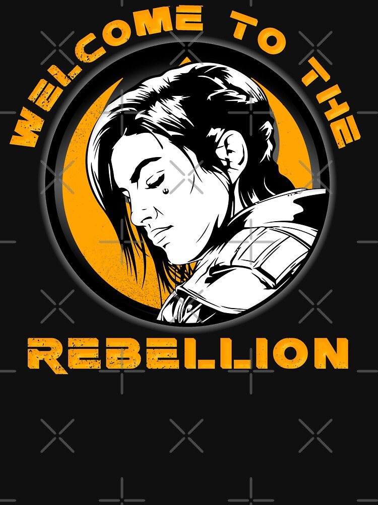 Gina Carano - Welcome to the Rebellion by nickredone1