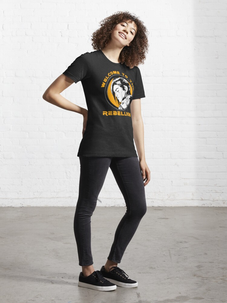 Alternate view of Gina Carano - Welcome to the Rebellion Essential T-Shirt