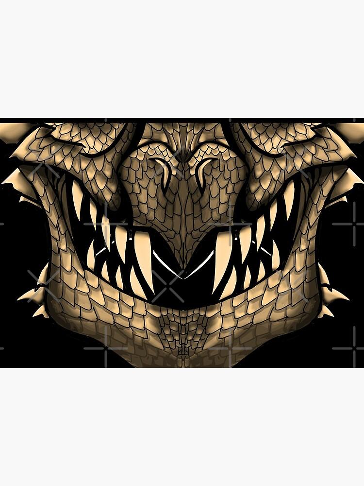 Gold Dragon Spirit Mask by GothickangelCa