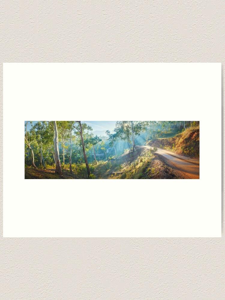 Alternate view of Morning Light, Howqua Hills, Mansfield, Victoria, Australia Art Print