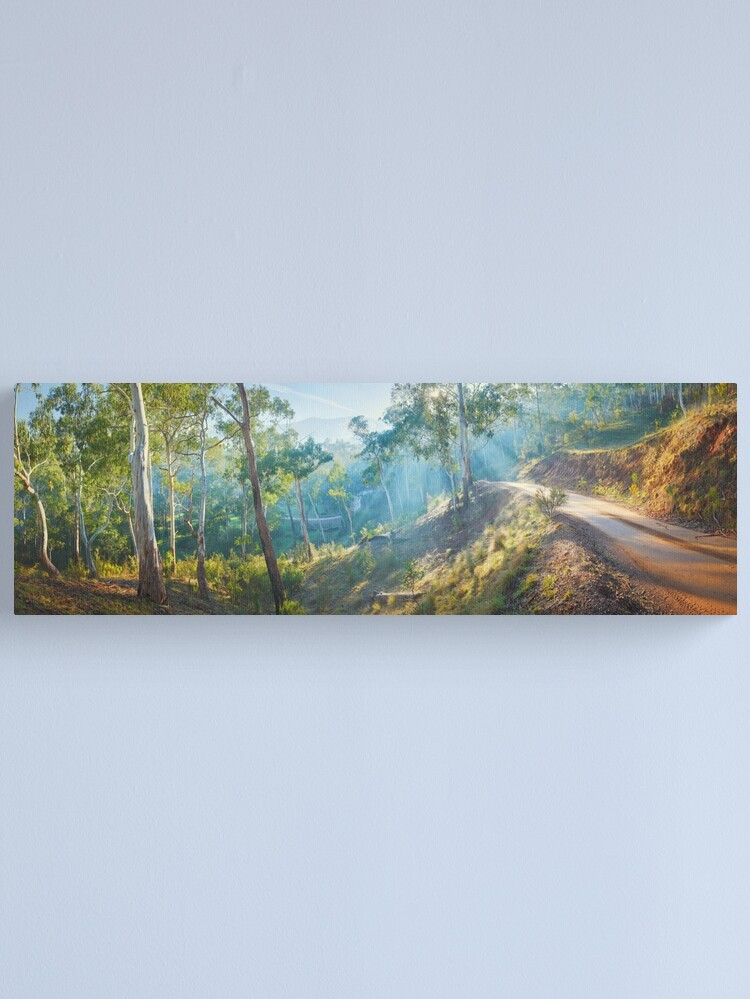 Alternate view of Morning Light, Howqua Hills, Mansfield, Victoria, Australia Canvas Print