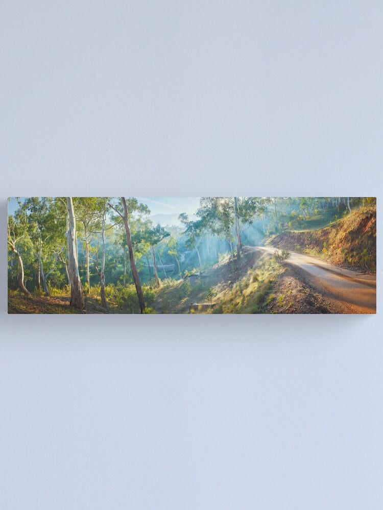 Alternate view of Morning Light, Howqua Hills, Mansfield, Victoria, Australia Canvas Print