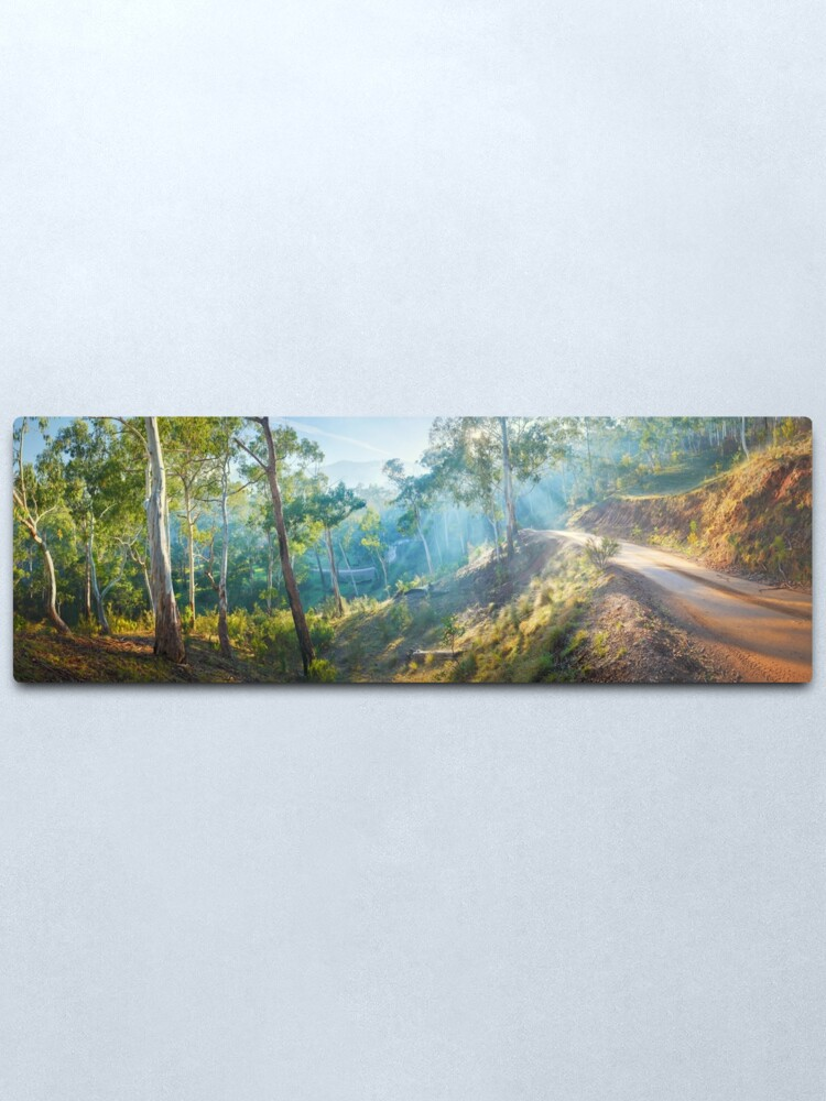 Alternate view of Morning Light, Howqua Hills, Mansfield, Victoria, Australia Metal Print