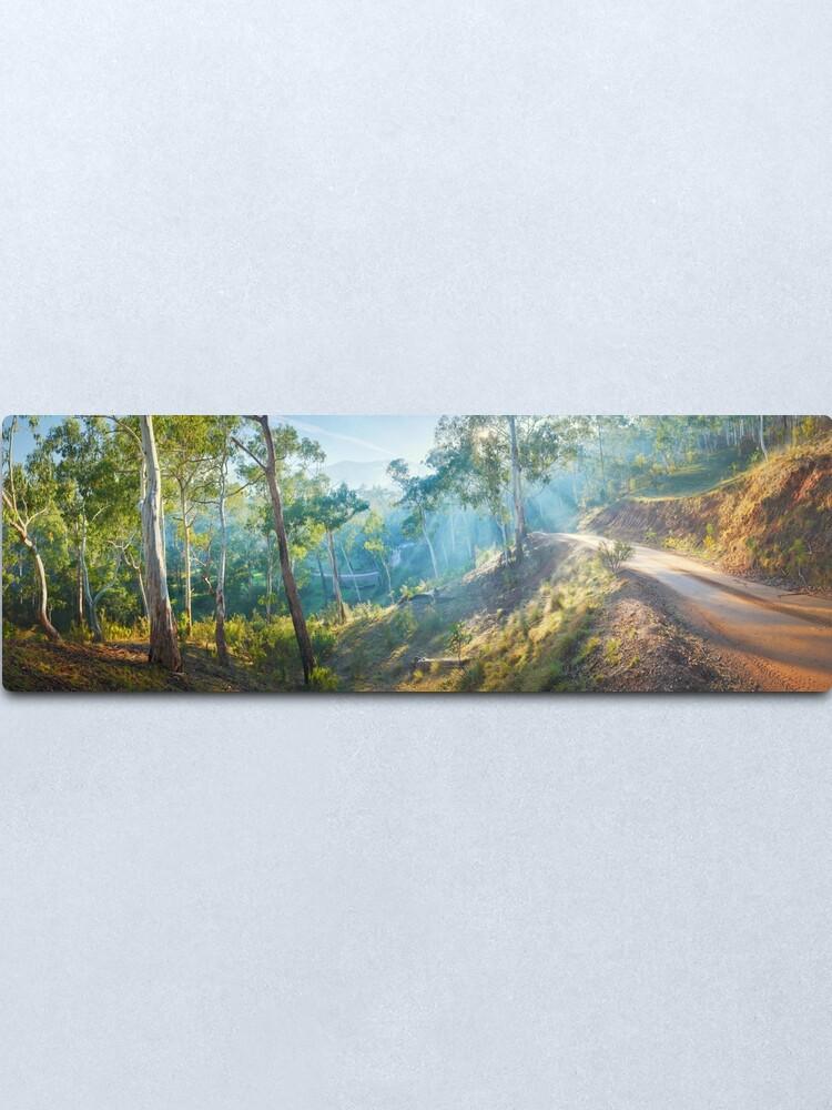 Alternate view of Morning Light, Howqua Hills, Mansfield, Victoria, Australia Metal Print